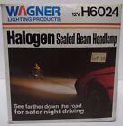 NOS NEW IN BOX Vtg 1980s WAGNER HALOGEN SEALED BEAM HEADLAMP LIGHT 12 VOLT H6024