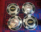 "Vintage GMC, Chevy 10 1/2"" Dog Dish Genuine Hubcaps"