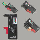 New Universal Indicator AA AAA C/D 9V Volt Button Battery Cell Tester Checker