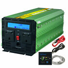 Generic Power Inverter 3000W DC 12V to 230V AC Converter with LCD Display Remote