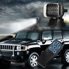 10LED Boat Remote Control Spotlight Offroad Truck Car Search 50W LED Light 6000K
