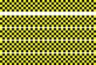 CHECKER STRIPES BLACK YELL0W VAN VINYL STICKERS DECALS RACING SPORTS FLAG
