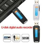 U-Disk Digital Audio Voice Recorder Pen USB Flash Drive up to 32GB Micro TF SD