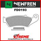 Newfren Suzuki DRZ250 2001-2018 Organic Front Brake Pad FD0193SD
