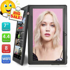 "7"" Inch Google Android 4.4 8GB Tablet PC Quad Core Touch Screen Bluetooth WIFI"