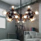 New LED-Glass-Ball-Chandelier-Ceiling-Light-Lobby-Pendant  Modern-Luxury-MODO