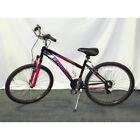 "26"" Schwinn Sidewinder Women's Mountain Bike, Matte Black/Pink S2601WML"