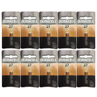 10x Duracell MN27 Alkaline 12V Battery Car Alarms Keyless Remote Garage Openers