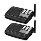 Hosmart 1/2 Mile LONG RANGE 7-Channel Security Wireless Intercom System for H...