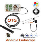 5M 6LED Endoscope Waterproof Inspection Borescope Camera Cable For Android Phone