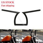 "7/8"" Drag Z Handlebars Motorcycle 22mm for Honda Yamaha Suzuki Chopper Bobber"