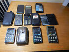NICE Lot of collectible calculators, 8 HP and 1 commodore, read details