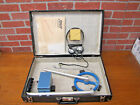 Vintage Relco TX60 Metal Detector In Case With All Paper Work. Tested & Working.