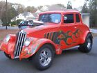 1933 Willys Model 77  1933 Willys coupe,steel body,gasser history,