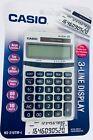 CASIO NS-310TM-S Silver Two-Way Solar Power 3-Line Calculator