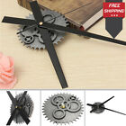 Vintage DIY Clock Mechanism Wall Clock Retro Gear Large Movement Home Decor