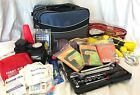 EMERGENCY SAFETY KIT AUTO CAR W/JUMPER CABLES PORTABLE TIRE AIR COMPRESSOR +