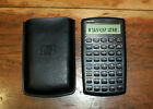 HP 10BII Financial Calculator with Soft Case - Exc, New Batteries