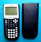 TEXAS INSTRUMENTS TI-84 PLUS GRAPHING CALCULATOR - POWER UP & WORKS !!!