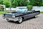 1964 Cadillac DeVille Convertible Stunning Restoration Must See Factory Air Conditioning Power Steering & Brakes this cadi convertible is sweet