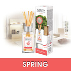 Areon Home Luxury Perfume Reed Diffuser + 10 Rattan Reeds, Spring Bouquet Scent