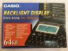 Casio DATA BANK Diary DC-8500 BK Digital Calculator 64kb BACKLIGHT LCD Display