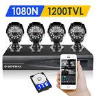 DEFEWAY 1080N HD 1500TVL Outdoor Home Security Camera DVR System 1T Hard Drive