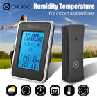 Digital Thermometer Weather Station Hygrometer Indoor Outdoor Humidity Forecast