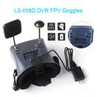 """4.3"""" 5.8G 40CH Video DVR FPV Goggles Glasses Dual Antenna for RC Drone Hubsan"""