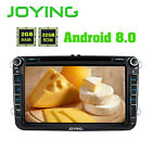 "Latest Android 8.0 Double Din Octa Core 8"" Car CD Radio Stereo for VW/Seat/Skoda"