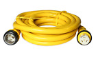 AMP UP 50A 125/250V x 50' Marine Shore Power Boat Cord Yellow 50 50 volt foot ft