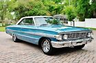 1964 Ford Galaxie 500XL Fastback Z Code 390 V8 Simply Gorgeous Power Steering, Bucket Seats, Console & Floor Shifter must be seen!
