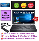 DELL LATITUDE E6530 LAPTOP WINDOWS 10 WIN DVD+RW INTEL i5 2.6GHz 16GB 2TB HDMI