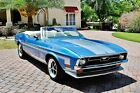 1971 Ford Mustang Mach 1 Convertible Gorgeous classic 302 V8 4bbl w/ Auto Trans and Power Steering