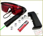 G900-F5 532nm Adjustable Focus Green Laser Pointer Stars&Battery&Charger&Goggles