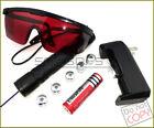 V900-F5 405nm Adjustable Focus Purple Laser Pointer&Star&Battery&Charger&Goggles