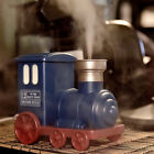 Modern Train Shaped Ultrasonic USB Air Humidifier Mini Aroma Diffuser Blue