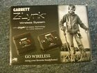 GARRETT Z-LINK WIRELESS SYSTEM FOR METAL DETECTOR ACE 200 300 400 & OTHER MODELS