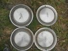 Vintage Oldsmobile 15 Inch Hubcaps-Wheel Covers-Set of 4