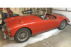 1962 MG MGA  1962 MGA Mark II 1600 original interior sports car 4-speed right hand drive