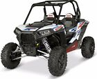 POLARIS RZR XP 1000 900 LOW PROFILE STEEL ROCK SLIDERS INDY RED