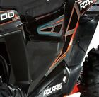 POLARIS RZR XP1000 XP 1000 BLACK INJECTION MOLDED LOWER HALF DOORS 2014 14