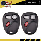 2 New Keyless Entry Remote Control Car Key Fob Replacement for 15732803 KOBUT1BT