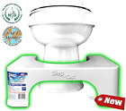 Toilet Squat Stool Poop Hemorrhoids Bathroom Relief Elimination Aid Colon New