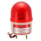 LED Warning Light Bulb Flash Signal Lamp Buzzer 90dB DC 24V Red LTE-2071J