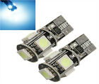 2x bulb t10 Canbus W5W 194 5050 SMD Error-free pink color Reference 014