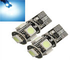 2x bulb t10 Canbus W5W 194 5050 SMD Error-free green colour Reference 013