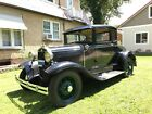 1931 Ford Model A  2-Owner coupe ~ very original California car