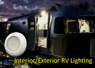 """4 pc 3"""" LED Dome Light Interior Exterior RV Boat Cabin Waterproof 12 volts"""