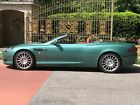 2007 Aston Martin DB9 DB9 Volante 2007 Aston Martin DB9 Volante RARE Almond Green with Kestrel Tan Interior